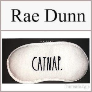 🆕RAE DUNN CAT NAP Beauty Sleep Soft Eye Mask